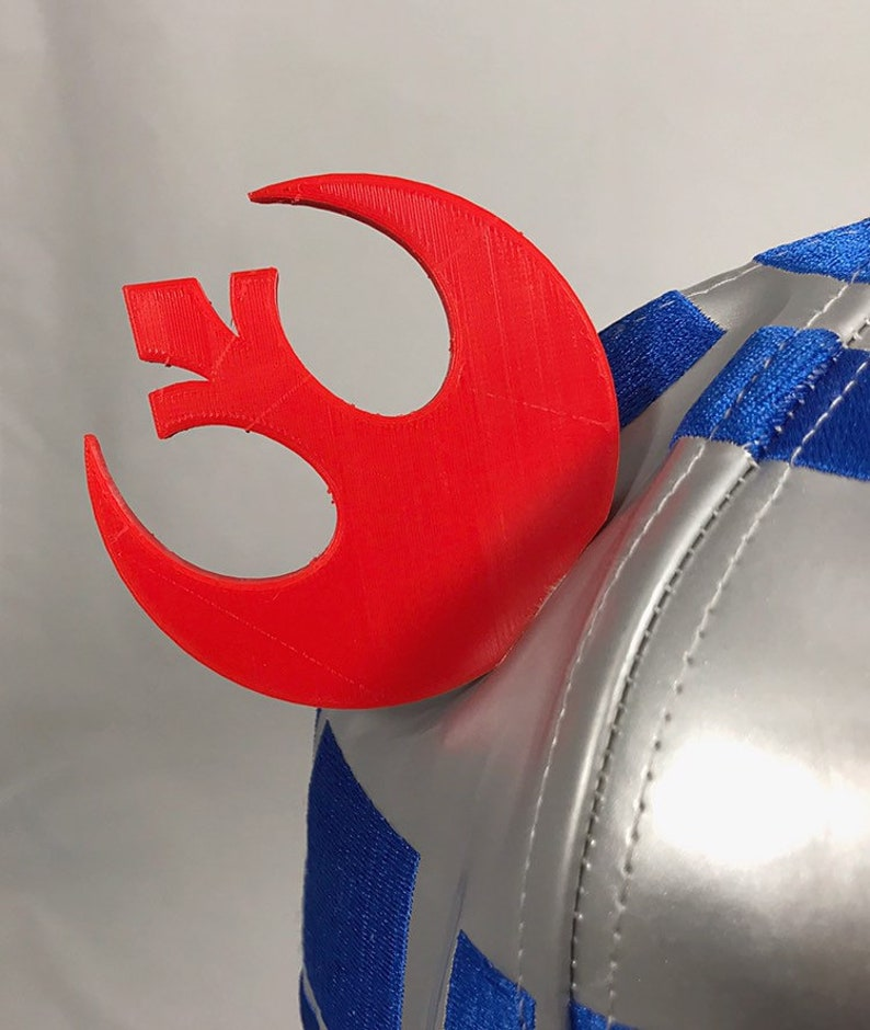 Star Wars REBELEMPIRE Mickey Ears For Any Hat 3D Printed 2Pc Accessory Mens Womens Kids