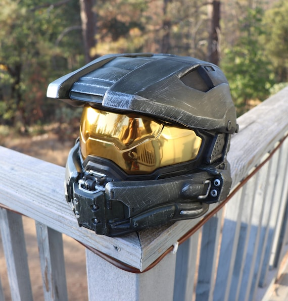 Halo Master Chief Wearable Helmet Full Size Spartan Cosplay Collectable Armor With Lights