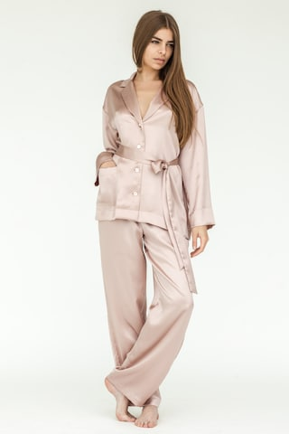 Silk Pajamas | Rose Gold Pajama Set |  Loungewear | Bridesmaid Gift | Mulberry Silk | Silk Loungewear