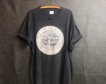 Grand Funk All The Girl In The World Hard Rock Band Men/'s Black T-Shirt