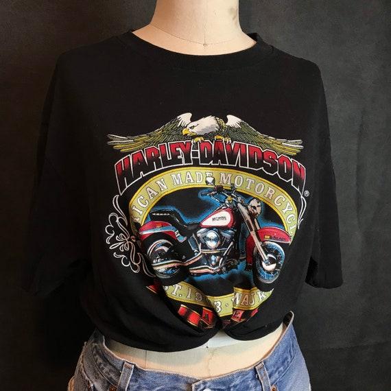 Vintage 1980 Harley Davidson Motorcycle Shirt