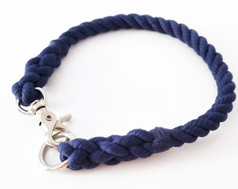 CHOOSE YOUR COLOR - Solid Color Rope Collar