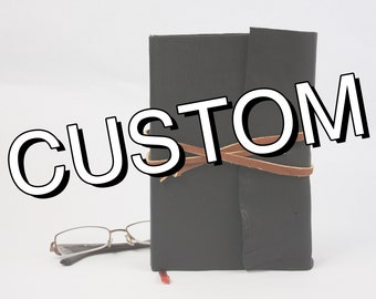 Custom Rebound Book by Request, Handmade Book, Upcycled Book
