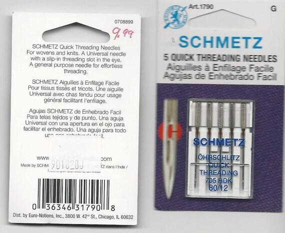 Schmetz 4mm Twin Needle #80