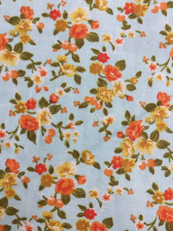 Metre Half Metre 100/% Rose /& Hubble Floral Cotton Poplin Fabric
