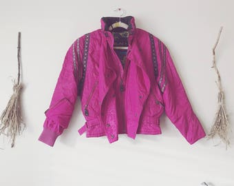 Fuchsia Ski Jacket Pink Windbreaker 826ced8e6