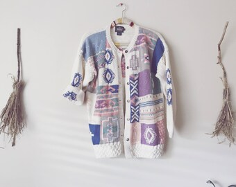 Pastel Knit Cardigan