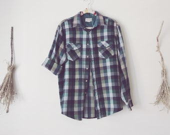 Goth Dark Wes Anderson Flannel