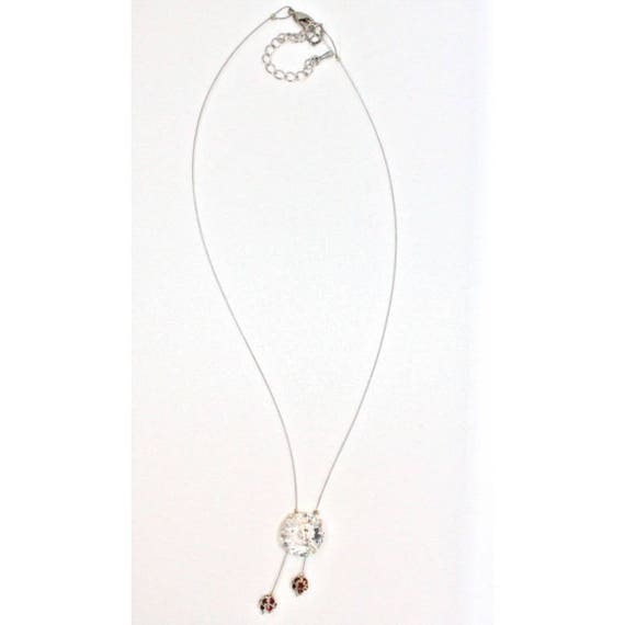 collier mariage CABOCHON luminescent collier