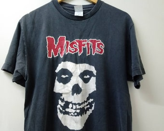 83b8c69b Vintage 90s misfits horror punk rock band/tour shirt band/medium size