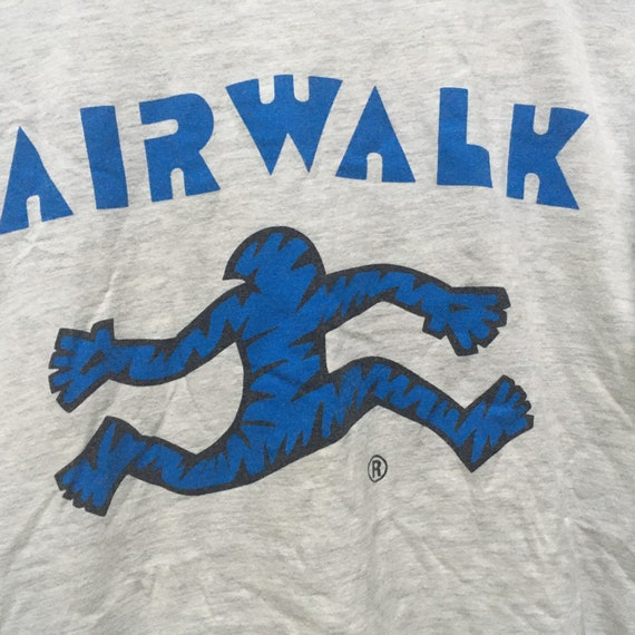 Vintage 90s Airwalk skateboard tshirt size M/skat… - image 3