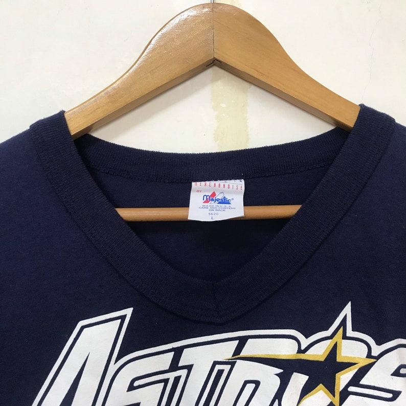Vintage 90s Houston Astros tshirt size Llos angeles dodgesNutmecMLBPAMLB