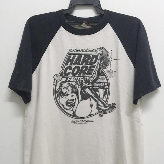 Vintage 90s 1997 hardcore Factory Tshirt size M/ g