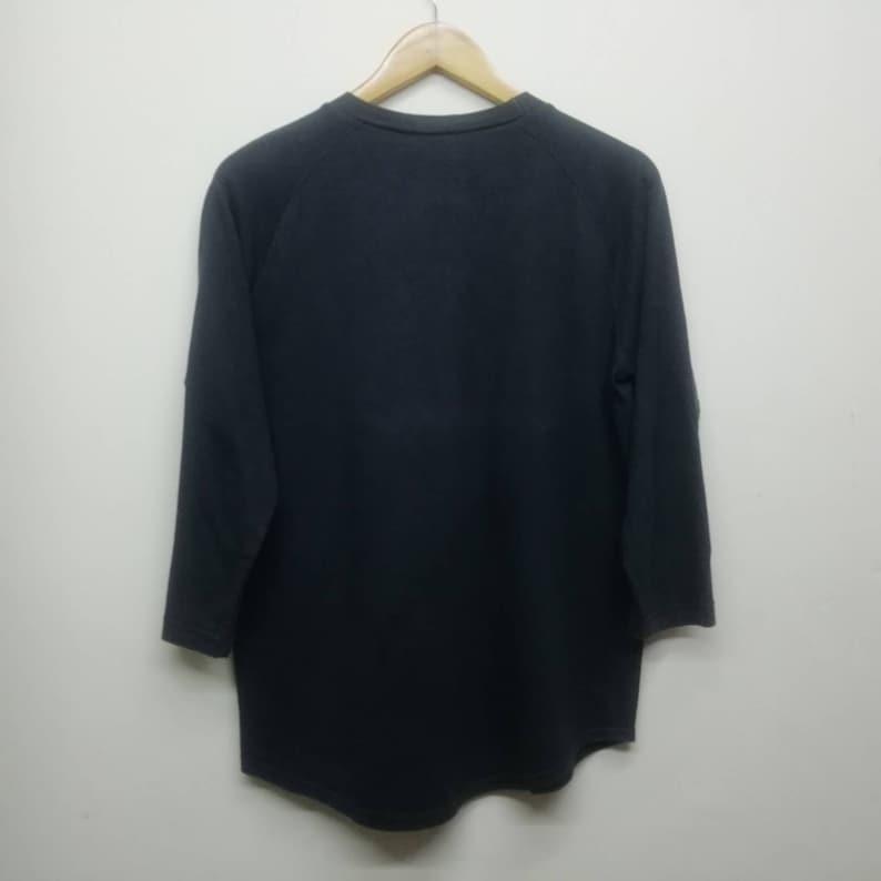 Vintage 90s Mosome tonebender punk rock band Raglan Tshirt size Mjapanese band Tshirt90s clothing
