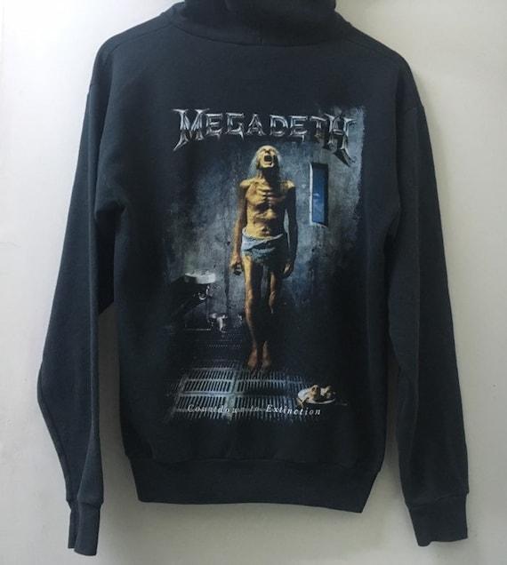 Vintage Megadeth hooded/Vintage 90s/Megadeth sweat