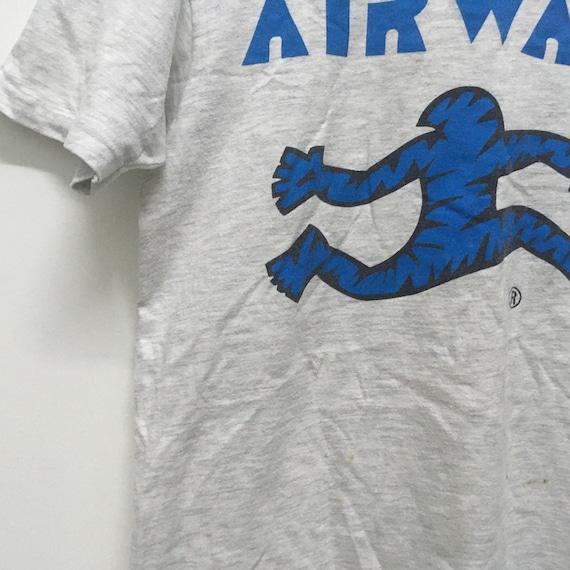 Vintage 90s Airwalk skateboard tshirt size M/skat… - image 4