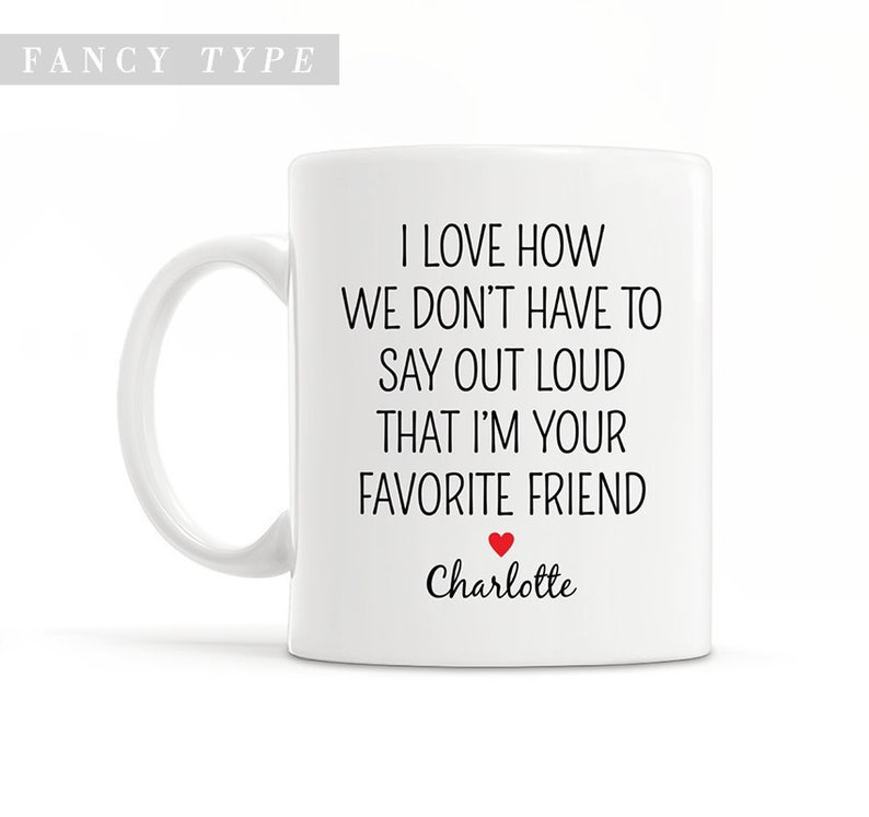 Funny Best Friend Gift Long Distance Gift Best Friend Coffee Mug Moving  Away Gift Personalized Mug Friendship Gift Best Friend Present