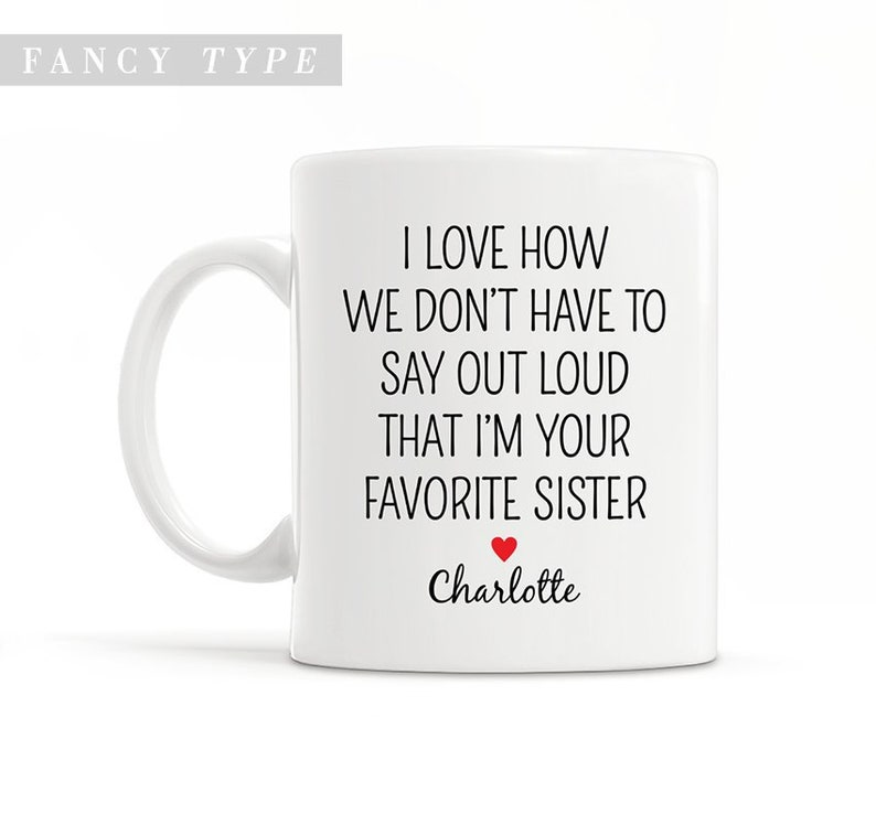 Funny Sister Mug Best Gift Ideas Big Brother