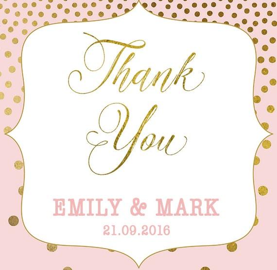 wedding favor thank you tag wedding favour tag wedding gift etsy