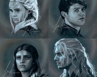 Witcher Prints