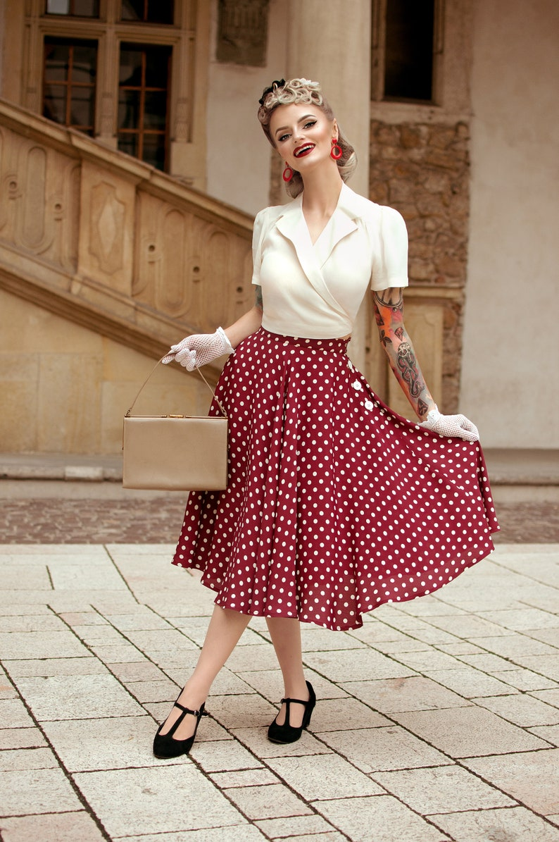 1950s Women's Outfit Inspiration TheSeamstressOfB  AT vintagedancer.com
