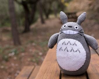 Ravelry: Grey Totoro Amigurumi pattern by Lucy Collin   270x340