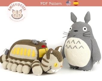 그레이 토토로 코바늘인형 만들기 영문도안 (Grey Totoro Amigurumi ...   270x340