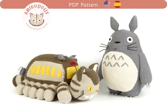 Totoro Amigurumi Crochet Pattern - Free - Ami Amour | 380x570