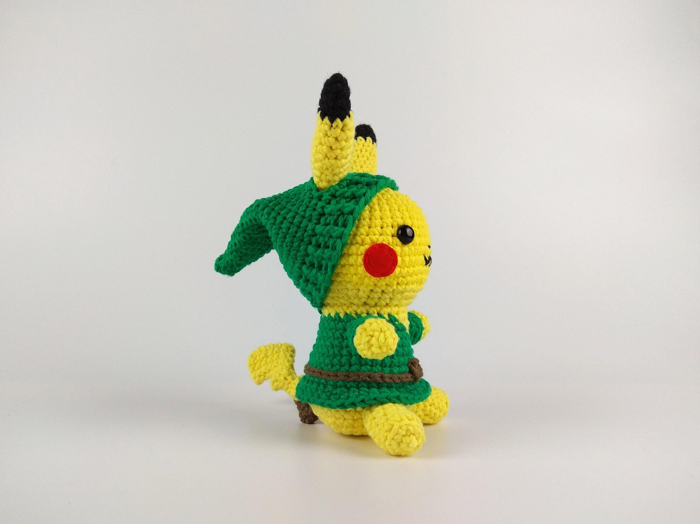 Amigurumi de Pikachu amigurumi de Link Pokemon regalo | Etsy
