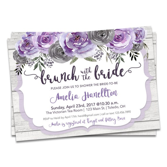 Bridal brunch invitation brunch bridal shower invitation etsy image 0 filmwisefo