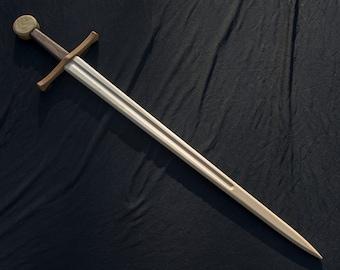Medieval Arming Sword - Handmade Wooden Sword