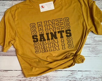 the best attitude 049c6 a5058 Saints shirt | Etsy