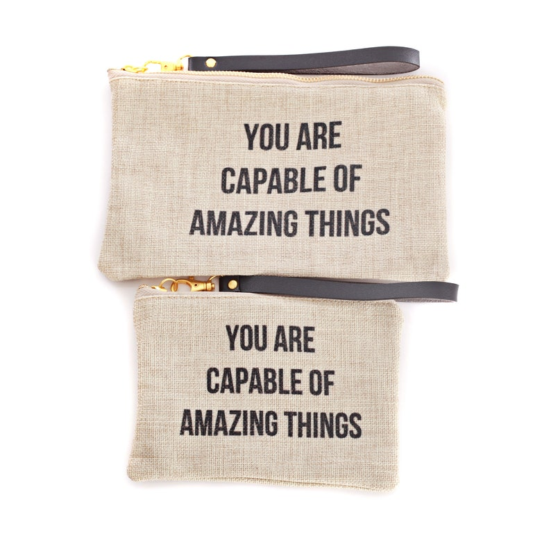 You Are Capable of Amazing Things Clutch image 0