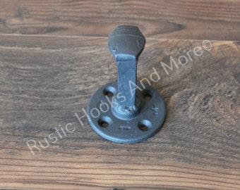 Railroad Spike Coat Hook. Rustic Railroad Spike Coat Hook. Rustic Coat Hook. Coat Hook.