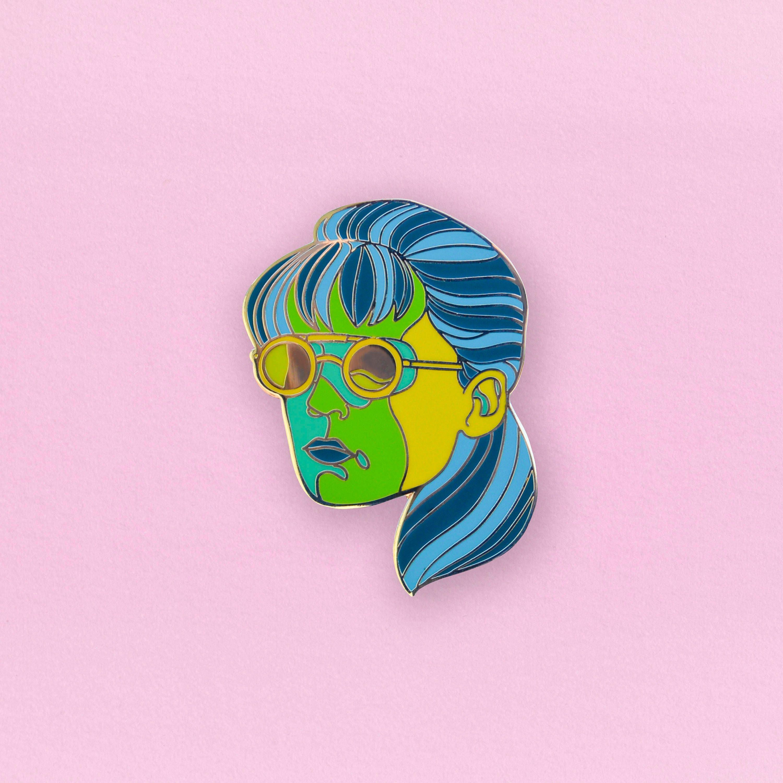 Sarah Connor Terminator Enamel Pin Sci-fi movie lapel Pin