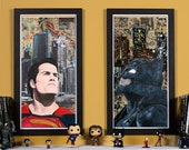 Batman V Superman- High quality print set