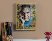 "Jack Kirby - 12"" x 16"" Original Oil painting"