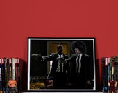 DeadPulp Fiction - High quality print