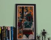 Star Wars: Boba Fett - High quality print