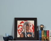 The Dragon - High quality print of Daenerys Targaryen