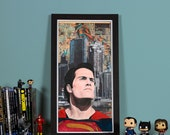 BVS: Son of Krypton- High quality print of Superman