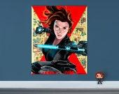 "Black Widow - 16"" x 20"" Original Oil Painting"