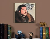 Jon Snow - Original oil painting