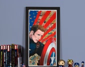 Civil War: Freedom - High quality print of Captain America