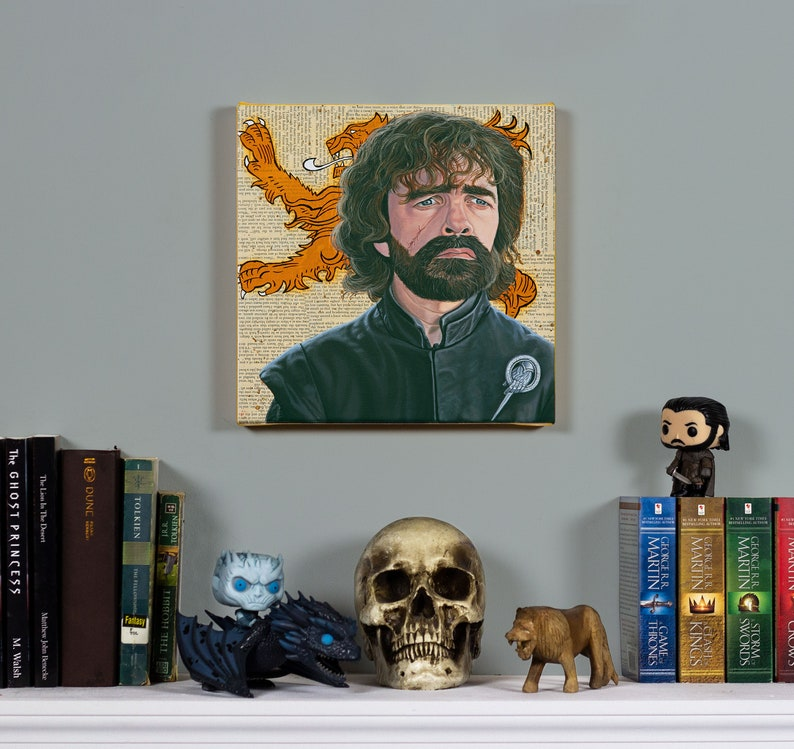 Tyrion Lannister  Original Oil Painting image 0