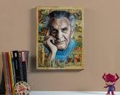 "Jack Kirby - 12"" x 16"" Original Oil painting"