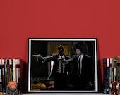 DeadPulp Fiction - High quality print