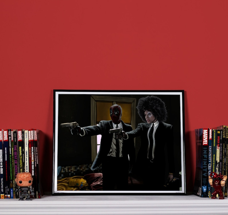 DeadPulp Fiction  High quality print image 0