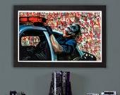 "Heath Ledger Joker - High Quality 18"" x 30"" Giclee Print"