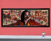 "A Comedy - LIMITED 36"" X 12"" High Quality Giclée Prints of The Joker"